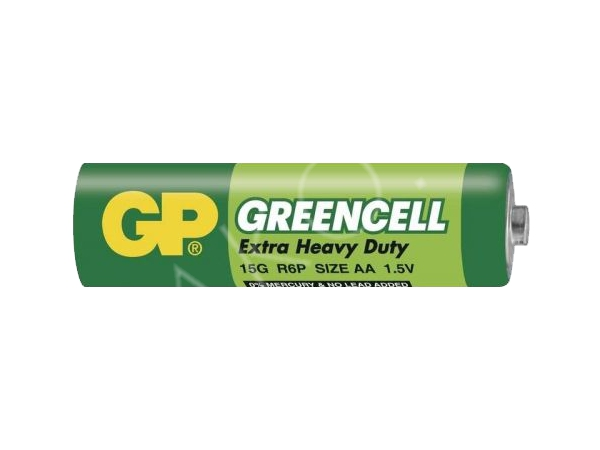 Baterie GP Greencell 1.5V AA (R6) - foto 1