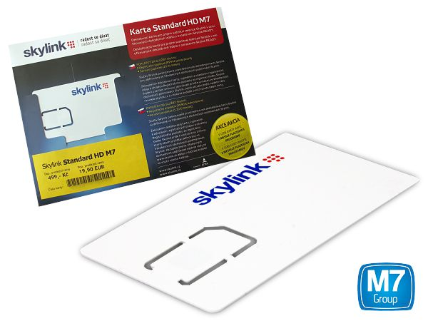 b1bf98bef Karta Skylink Standard HD M7, Irdeto | Dekódovací karty Skylink | Omko