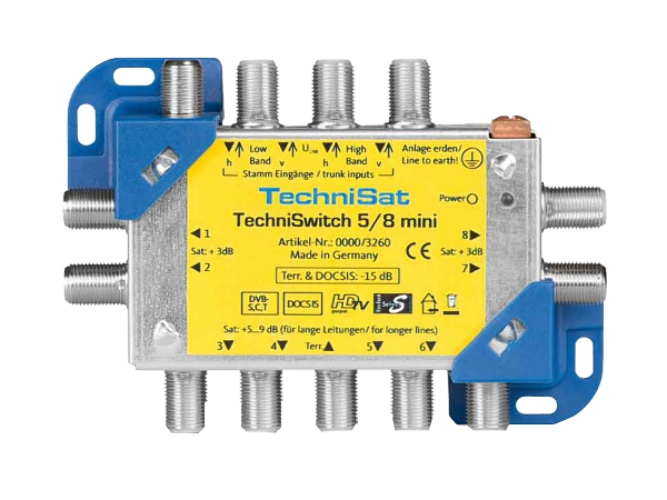 Technisat TechniSwitch 5/8 mini - foto 1