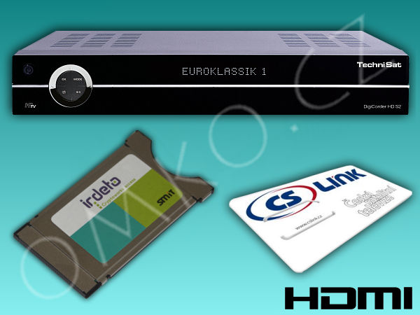 TechniSat DigiCorder HD S2X PLUS 160GB + modul Mascom + CS Link - foto 1