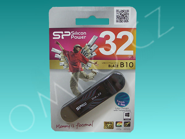 USB flashdisk Silicon Power 32GB Blaze B10, USB3.0 - foto 1