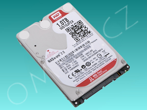 "Pevný disk 2,5"" Western Digital 1TB, WD10JFCX, SATA III/600, 16MB, IntelliPower - foto 1"