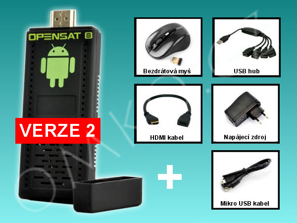 Opensat Smart TV  Mini PC (verze 2) - foto 1