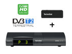 Výhodný set TechniSat Digipal ISIO HD, antracit + USB WiFi adaptér TELTRONIC ISIO