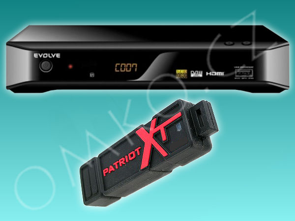 Evolve DT-3010HD SCORPIO + 8GB USB flashdisk - foto 1