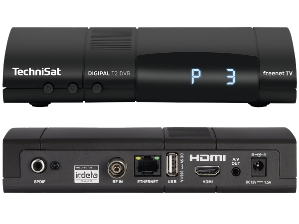 TechniSat DigiPal T2 DVR, DVB-T2, antracit - foto 1
