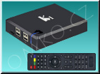 DI-WAY K1 AND-4 Quad Core, Android TV Box s DVB-T2 tunerem