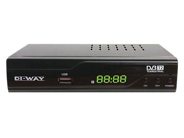 DI-WAY T2-ONE plus, DVB-T2 - foto 1