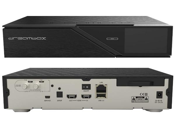 Dreambox DM900, 4K Ultra HD | Satelitní přijímače Dreambox