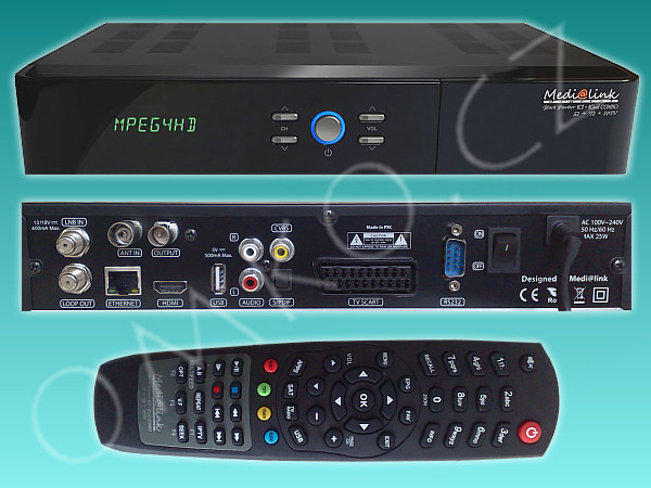 Medialink Black Panther 1CI 1Card COMBO DVB S2/C2/T2 HD - foto 1