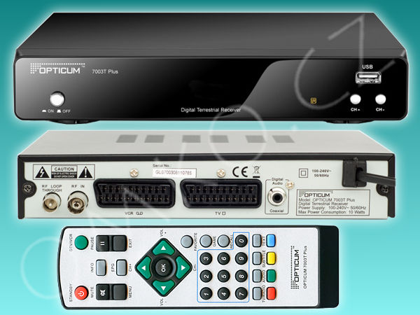 Opticum 7003T Plus DVB-T - foto 1