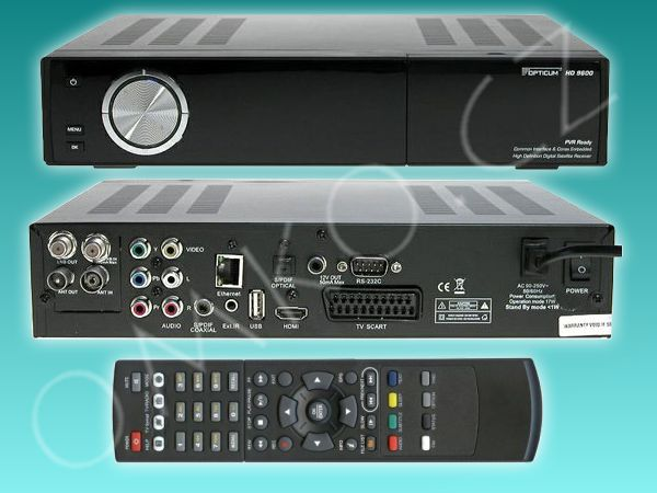Opticum 9600HD TS PVR Ready - foto 1