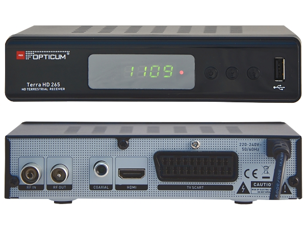 Opticum Terra HD 265, DVB-T2 - foto 1