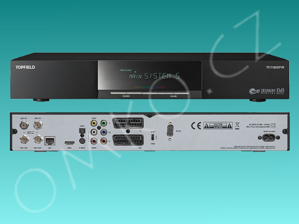 Topfield TF 7710 HDPVR 500GB - foto 1