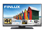 Finlux 55FUD7060, 140 cm, Direct LED, HDR, Smart TV, černý