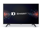Televizor GoSAT GS5560, 139 cm, Ultra HD, Smart TV, černý