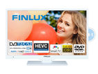 Finlux 22FWDC5161, 57 cm, Full HD, Smart TV, DVD/CD, bílý