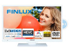 Finlux 22FWDC5161, 57 cm, Full HD, Smart TV, DVD/CD, bílý, rozbaleno
