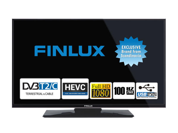 Finlux 24FFD4120, 61 cm, Full HD, Direct LED, černý - foto 1