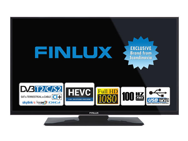 Finlux 24FFD4660, 61 cm, Full HD, Direct LED, černý - foto 1