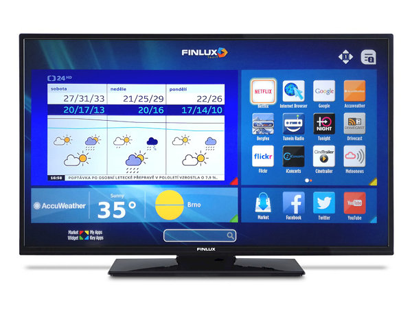 Finlux 24FHB5661, 61 cm, HD Ready, Smart TV, černý - foto 1