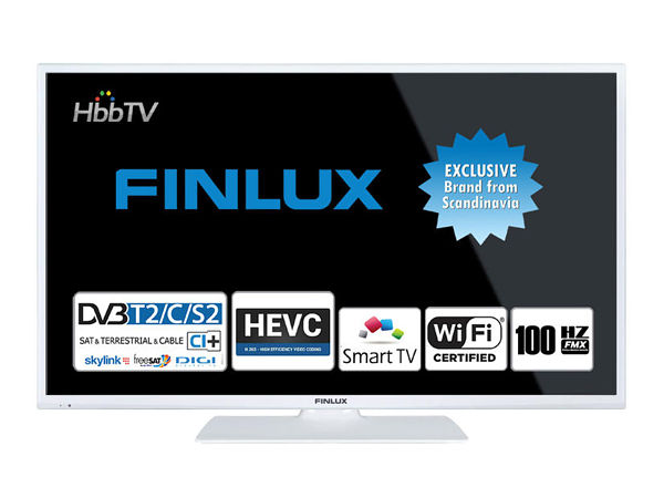 Finlux 24FWD5660, 61 cm, HD Ready, Smart TV, bílý - foto 1
