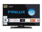 Finlux 40FUD7060, 101 cm, Ultra HD, Direct LED, Smart TV, černý