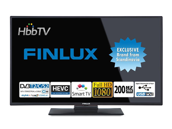 Finlux 43FFC5160, 109 cm, Full HD, Smart TV, černý - foto 1