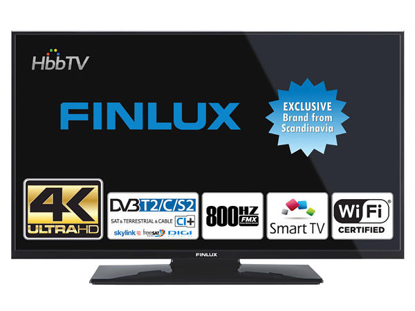 Finlux 43FUC7060, 109 cm, Ultra HD, Smart TV, černý - foto 1