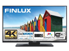 Finlux 43FUD7060, 109 cm, Ultra HD, Direct LED, Smart TV, černý