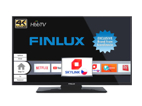 Finlux 43FUD7061, 109 cm, Ultra HD, HDR LED, Smart TV, černý