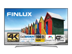 Finlux 43FUE8160, 109 cm, Ultra HD, HDR LED, Smart TV, černý