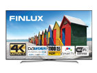 Finlux 49FUC8060, 125 cm, Ultra HD, ultratenký panel, Smart TV, černý