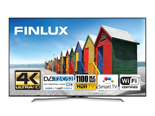 Finlux 49FUE8160, 124 cm, Ultra HD, Direct HDR LED, Smart TV, černý - foto 1