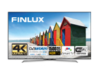 Finlux 55FUE8160, 140 cm, Ultra HD, HDR LED, Smart TV, černý