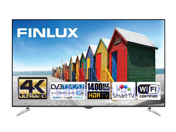 Finlux 65FUC8061, 165 cm, HDR Ultra HD, Smart TV, černý - foto 1