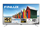 Finlux 65FUE8160, 165 cm, HDR Ultra HD, Smart TV, černý