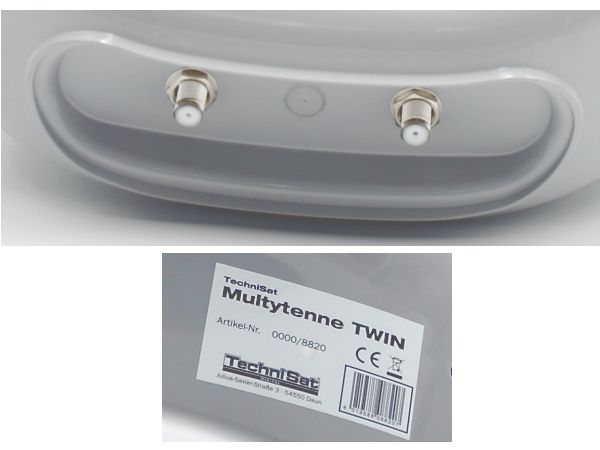 TechniSat MULTYTENNE TWIN, LNB pro SATMAN 45 - foto 4