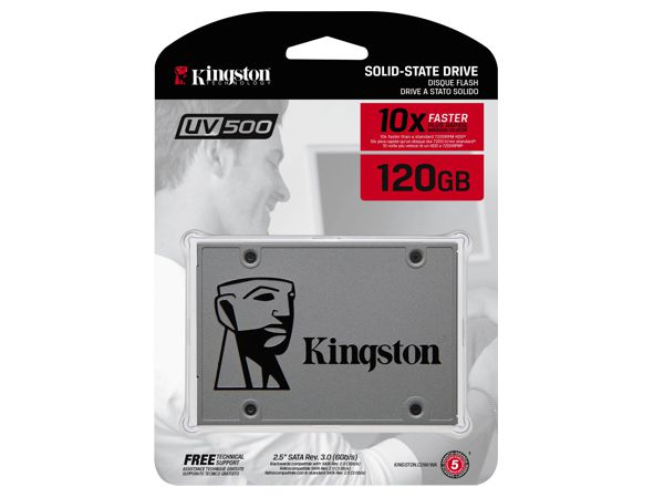 "SSD disk Kingston 120GB, SUV500/120G, 2.5"", SATA III - foto 3"
