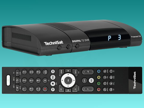 TechniSat DigiPal T2/C DVR, DVB-T2, antracit - foto 2