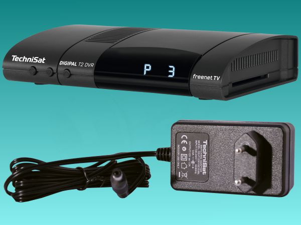 TechniSat DigiPal T2/C DVR, DVB-T2, antracit - foto 3