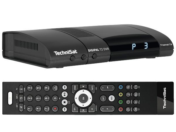 TechniSat DigiPal T2 DVR, DVB-T2, antracit - foto 2