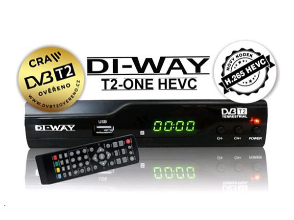 DI-WAY T2-ONE plus, DVB-T2 - foto 6