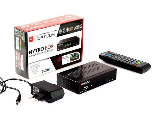 Opticum Nytro Box H.265 HEVC, PVR, DVB-T2 - foto 5