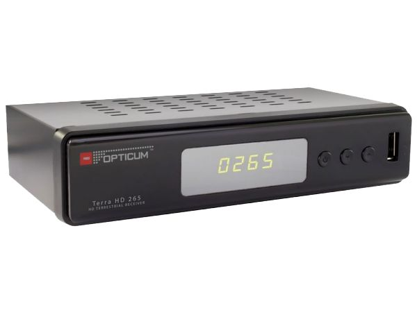 Opticum Terra HD 265, DVB-T2 - foto 2