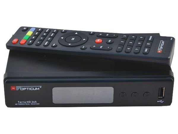 Opticum Terra HD 265 Plus, DVB-T2 - foto 3
