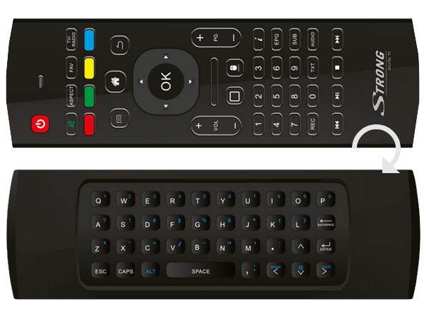 Strong SRT 2400, DVB-S2/DVB-T2/DVB-C, Android, Wi-Fi, 4K Ultra HD - foto 2