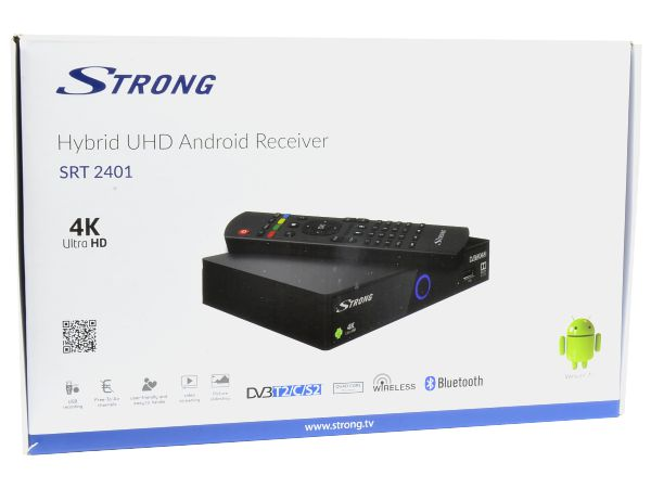 Strong SRT 2401, DVB-S2/DVB-T2/DVB-C, Android, Wi-Fi, 4K Ultra HD - foto 4