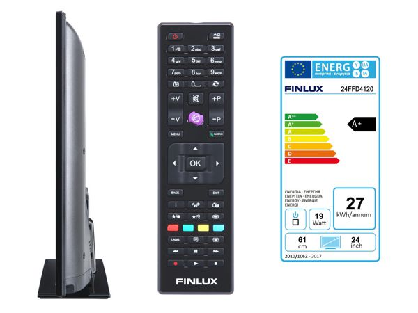 Finlux 24FFD4120, 61 cm, Full HD, Direct LED, černý - foto 3