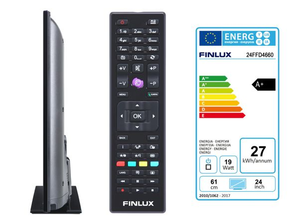 Finlux 24FFD4660, 61 cm, Full HD, Direct LED, černý - foto 4